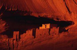 Arizona cliff dwelling ruins