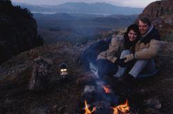 Arizona campfire