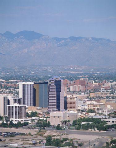 Tucson, Arizona cityscape