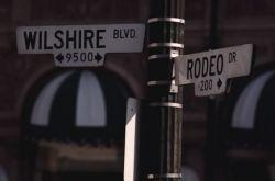 California street signs