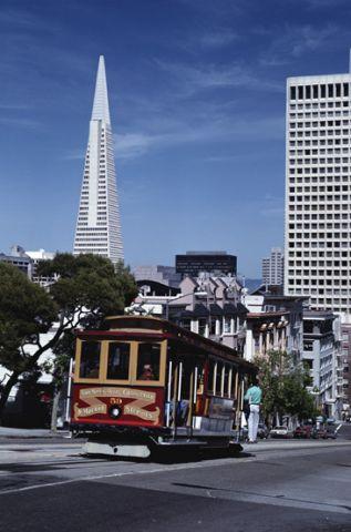 Cable Car - San Francisco California