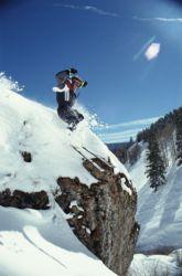 Colorado skier