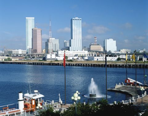 Tampa, Florida skyline