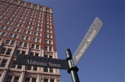Georgia street signs