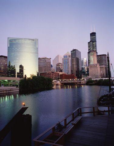 Chicago Illinois skyline