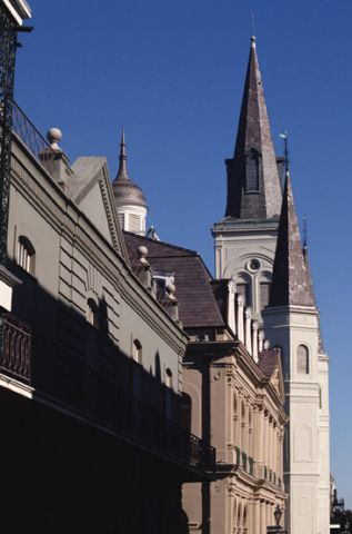 New Orleans Louisiana architecture