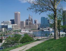 Baltimore, Maryland skyline