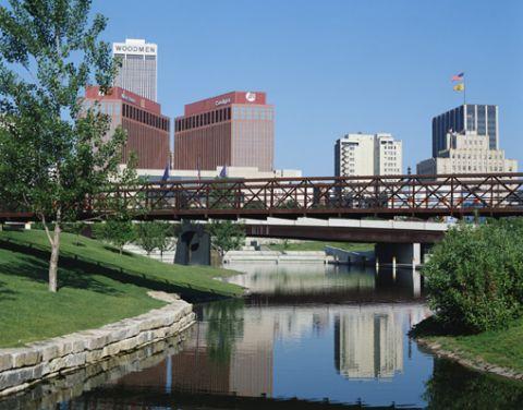 Omaha skyline - Nebraska
