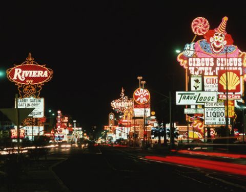 Las Vegas street - Nevada