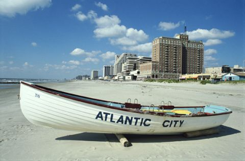 Atlantic City beach - New Jersey