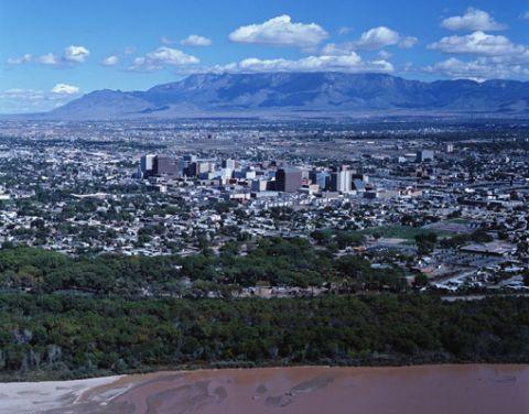 Albuquerque - New Mexico aerial view