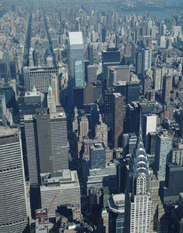 Midtown Manhattan aerial view, New York City