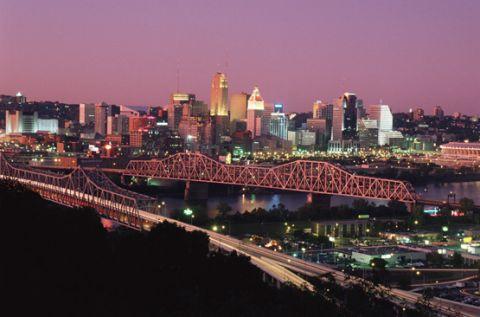 Cincinnati Ohio skyline