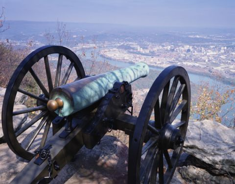 Chattanooga Battlefield artillery piece - Tennessee