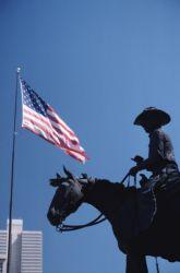 Fort Worth cowboy statue
