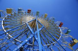 King County Fair ferris wheel