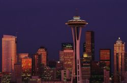 Seattle skyline close-up