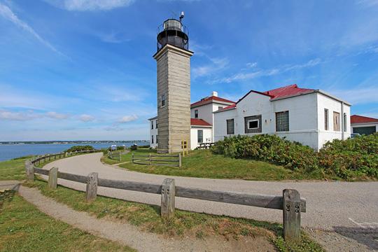 Beavertail Lighthouse Museum in Jamestown, Rhode Island