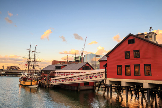 Boston Tea Party Ships and Museum in Boston, Massachusetts