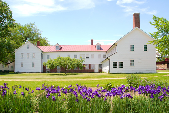 Canterbury Shaker Village in Canterbury, New Hampshire