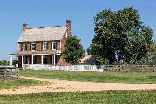 Clover Hill Tavern in Appomattox, Virginia