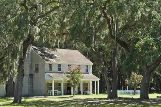 Fort McAllister Officers Quarters near Savannah, Georgia
