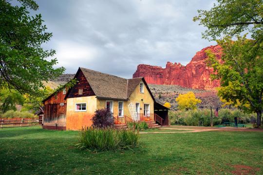 Gifford House Museum in Teasdale, Utah