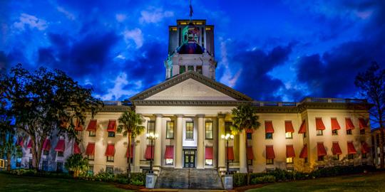 Historic Florida Statehouse in Tallahassee, Florida