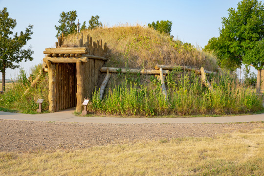 Knife River Indian Villages National Historic Site in Stanton, North Dakota
