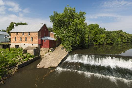 Lidtke Grist Mill in Lime Springs, Iowa