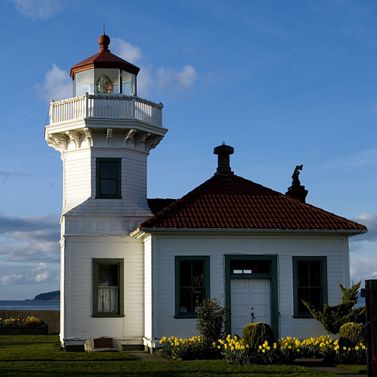 Mukilteo Lighthouse in Mukilteo, Washington