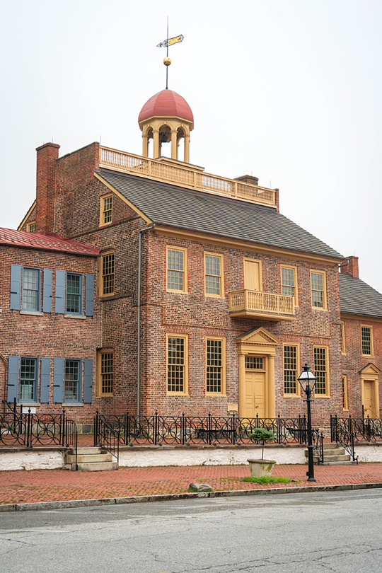 New Castle Court House Museum in New Castle, Delaware