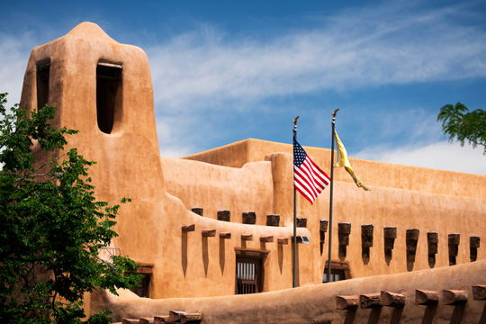 New Mexico Museum of Art in Santa Fe, New Mexico