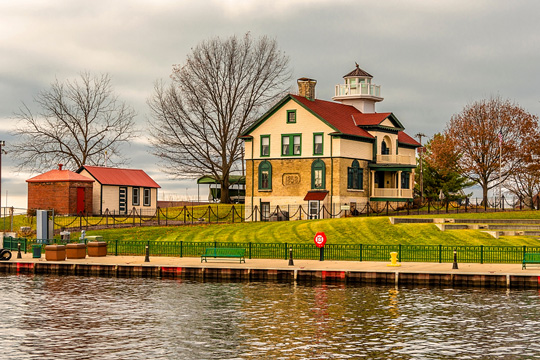 Old Lighthouse Museum in Michigan City, Indiana