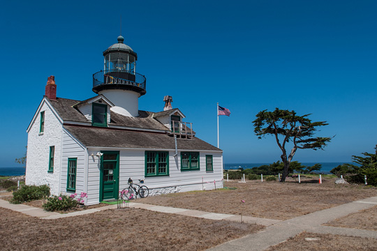 Point Pinos Lighthouse in Monterey, California