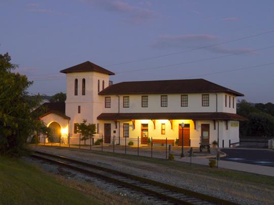 Railroad Museum in Bridgeport, Alabama