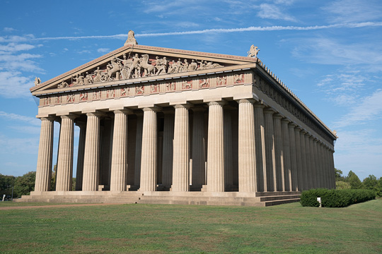 The Parthenon (replica) in Nashville, Tennessee